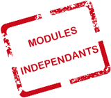 Modules indépendants